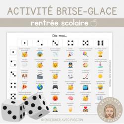 Activité brise-glace (version emoji)