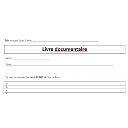 Lecture 2X2 pour documentaire
