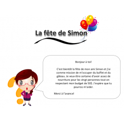 La fête de Simon
