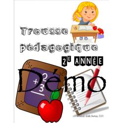 Trousse pédagogique 2e année