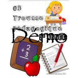 Trousse pédagogique #3 (2e année)