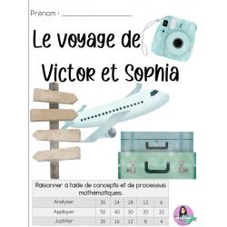 Raisonner : Le voyage de Victor et Sophia