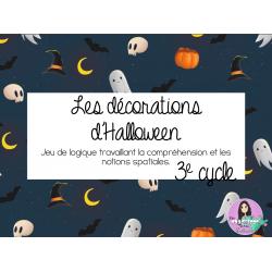 Les décorations d'Halloween - Atelier