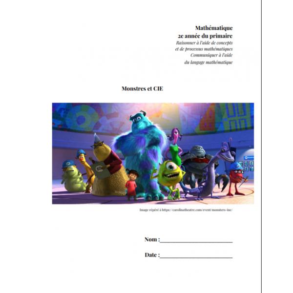 Diagramme à bandes (Monstres et CIE) - 2e année
