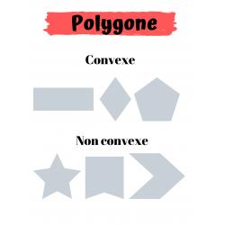 Affiche (polygone convexe et non convexe)
