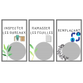 Les responsabilités (thématique plantes)