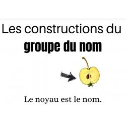 Aide-mémoire Groupe du nom
