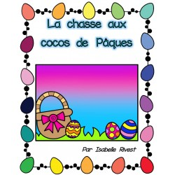 Livre La chasse aux cocos de Pâques