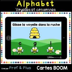 Alphabet voyelles et consonnes - CARTES BOOM