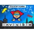 Trouve les voyelles | Les super-héros Cartes BOOM