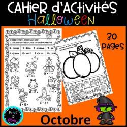 Cahier d'activités Octobre - Halloween
