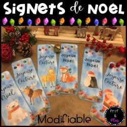 Signets de Noël MODIFIABLES