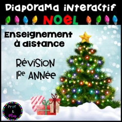 Diaporama-Jeu de Noël/Révision 1re année