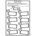 Cahier d'activités St-Valentin - Février