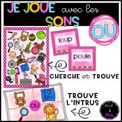Son OU - Jeux TROUVE L'INTRUS - CHERCHE et TROUVE