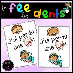 Fée des dents - Certificats
