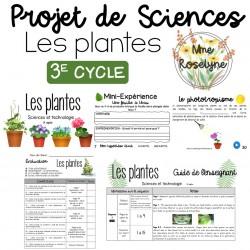 Projet COMPLET - Les plantes