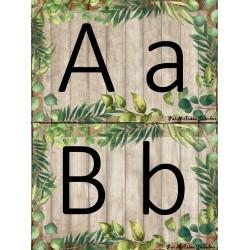 Alphabet - fougère (petit format)
