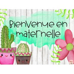 Affiche classe- maternelle