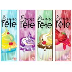 Signet - Bonne fête cupcakes