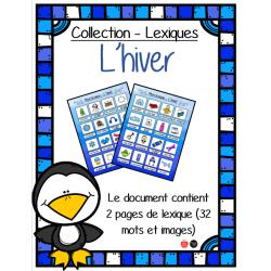 Mon lexique - Hiver
