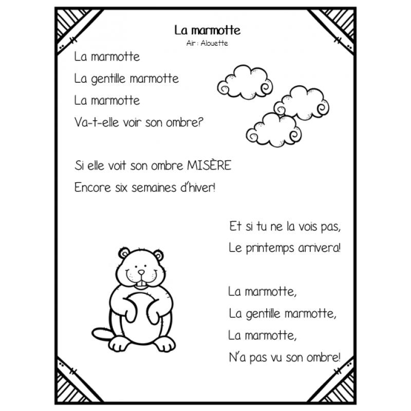 COMPTINES LA MARMOTTE DE GRATUITEMENT TÉLÉCHARGER GRATUITEMENT LES