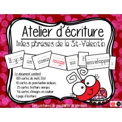 Atelier - Phrases de St-Valentin