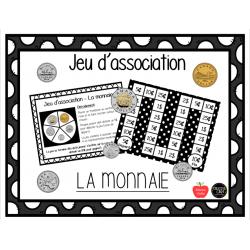 Jeu d'association - La monnaie