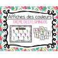 Affiches des couleurs - Flamant rose