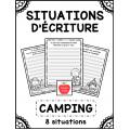 Situations d'écriture - Camping