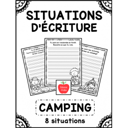 Situations d'écriture - Camping