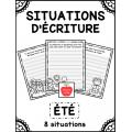Situations d'écriture - Été