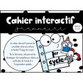 Cahier interactif/Grammaire 1er cycle