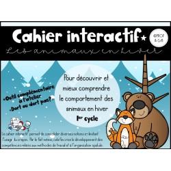Cahier interactif *Les animaux en hiver
