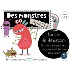 Des monstres émotifs *Cartes de discussion