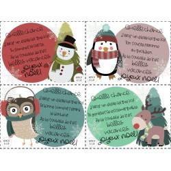 Souhaits de Noël pour vos élèves