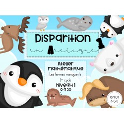 Disparition en Arctique *Combo