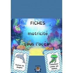Fiches motricité sous l'océan