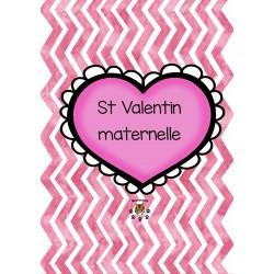 Trousse d'apprentissages St Valentin