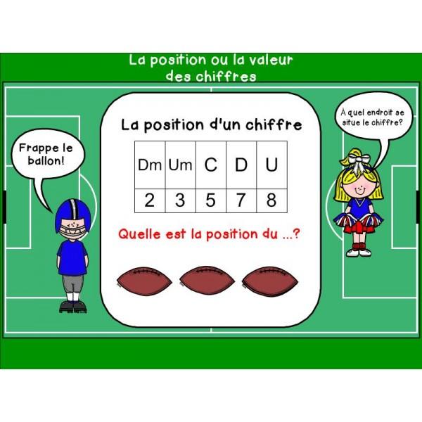 Valeur et position (Notebook)