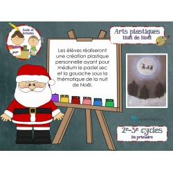 Art-La nuit de Noël