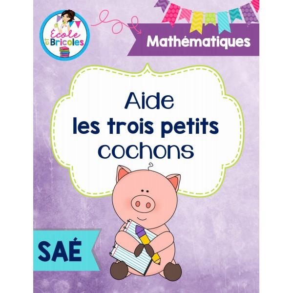 SAÉ- Les trois petits cochons