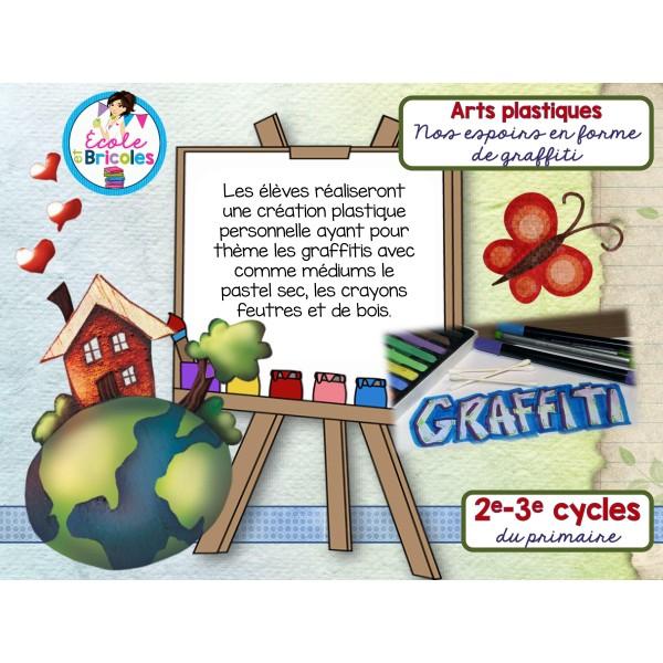 Arts-Nos espoirs en forme de graffiti
