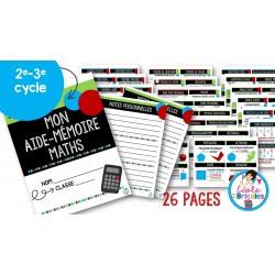 Aide-mémoire mathématique 2e et 3e cycles