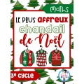 Maths-Le plus affreux chandail de Noël (3e cycle)