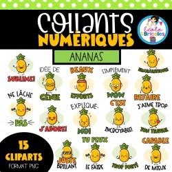 EB-Collants numériques (Ananas)