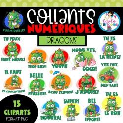 Collants numériques (Dragons)