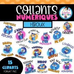 Collants numériques (Hiboux)