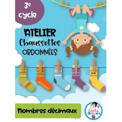 Atelier- Chaussettes ordonnées