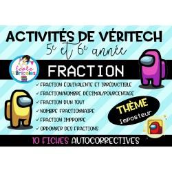 Véritech fractions (Imposteurs)-3e cycle